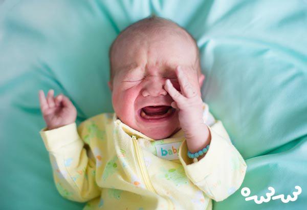 خشکی بدن نوزاد