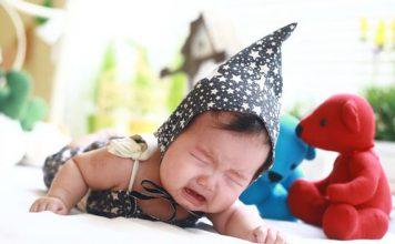 داغی سر نوزاد نشان دهنده تب نیست!