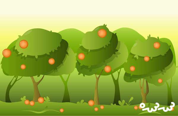 """قصه """"درخت نارنج"""""""