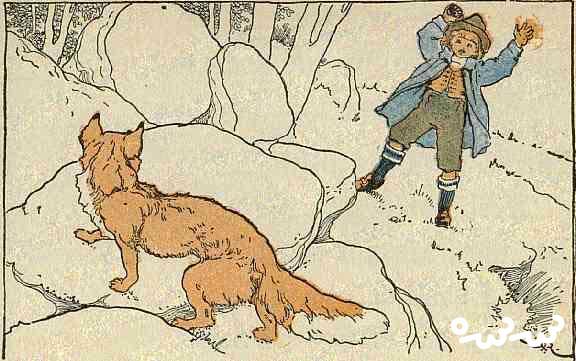 """قصه """"پسرک و روباه"""""""