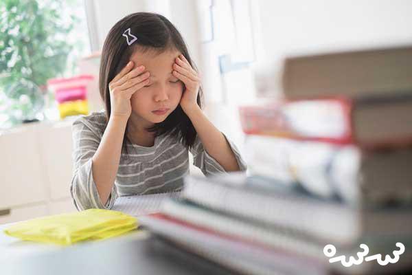 اضطراب در کودکان دبستانی