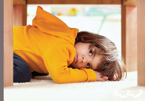 انواع اختلالات اضطرابی در کودکان