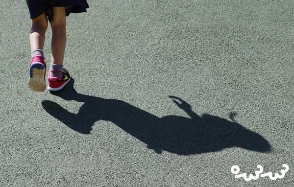 ترسیدن کودک از سایه خود