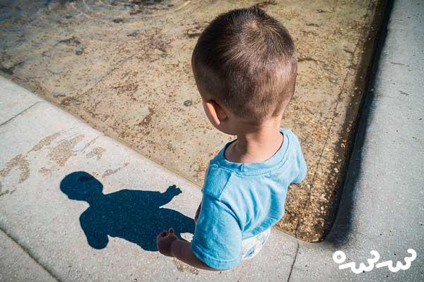 ترس از سایه در کودکان