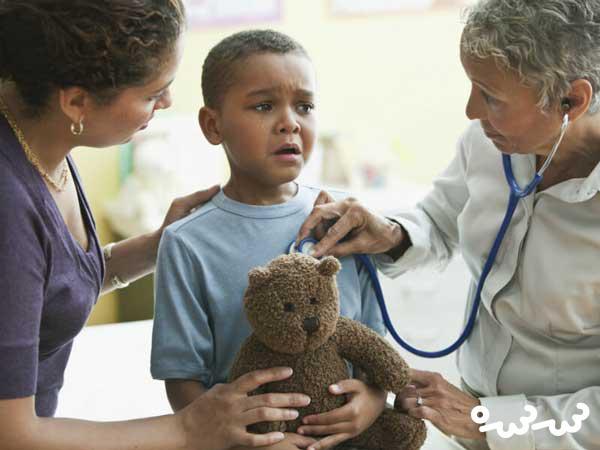 ترس کودک از پزشک