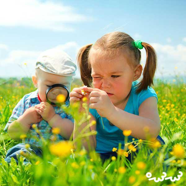 ترس کودکان از حشرات