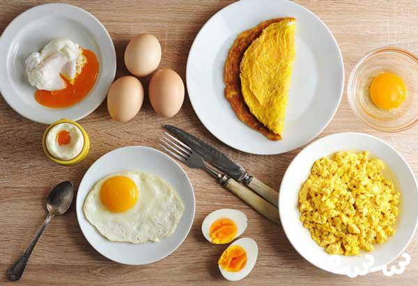 عوارض مصرف زیاد تخمه مرغ