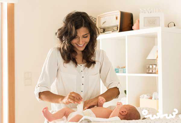 میزان مصرف پوشک نوزاد