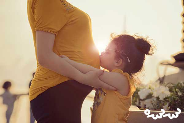 بارداری با بچه کوچک