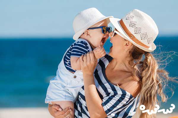 بهترین زمان برای سفر با نوزاد