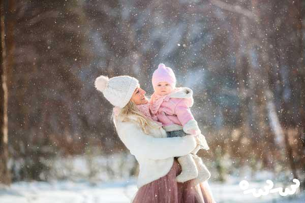 نوزاد را از چند ماهگی میتوان بیرون برد