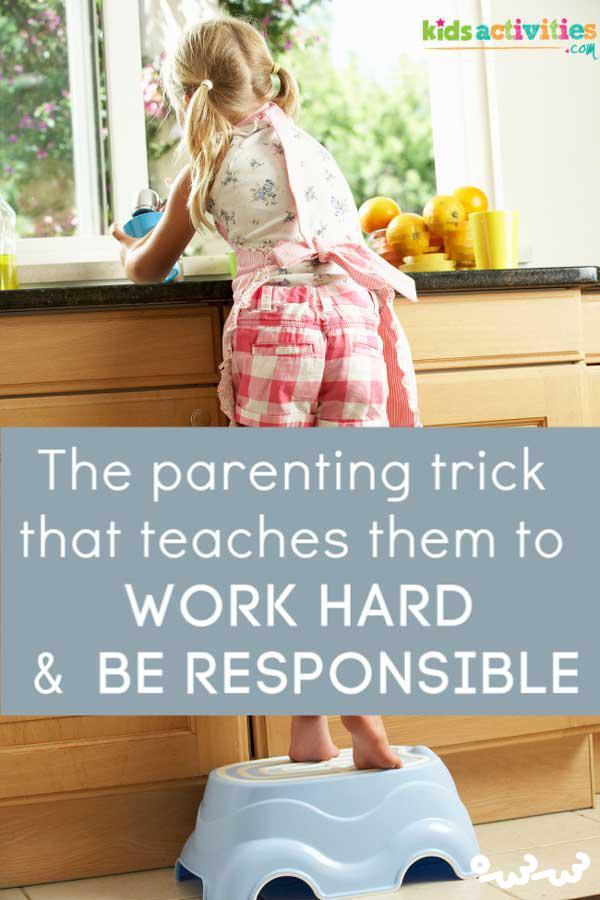 تعریف مسئولیت پذیری برای کودکان