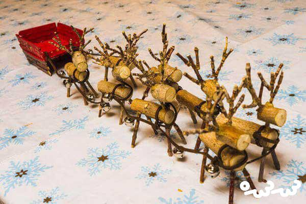 ساخت سورتمه بابانوئل