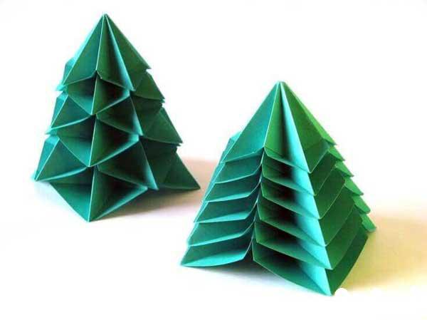 کاردستی درخت سه بعدی