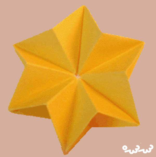 اوریگامی متحرک ساده