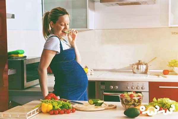 زنان باردار گیاهخوار