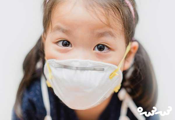 مضرات آلودگی هوا برای کودکان
