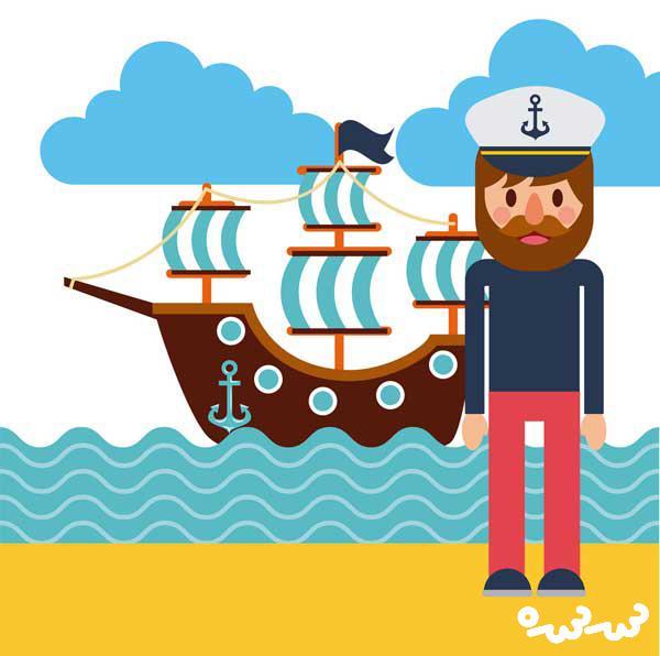 قصه درباره ی دریانوردی