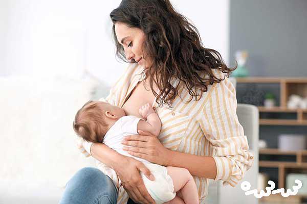 عوارض شیردهی برای مادر
