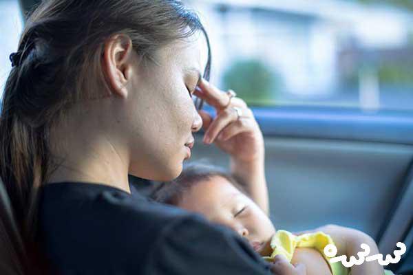 مشکلات بعد از به دنیا آمدن نوزاد