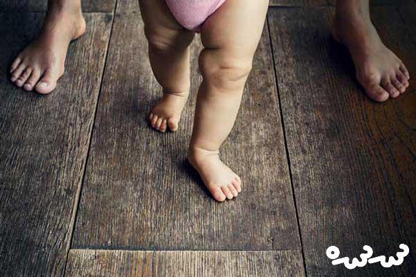 راه بردن کودک