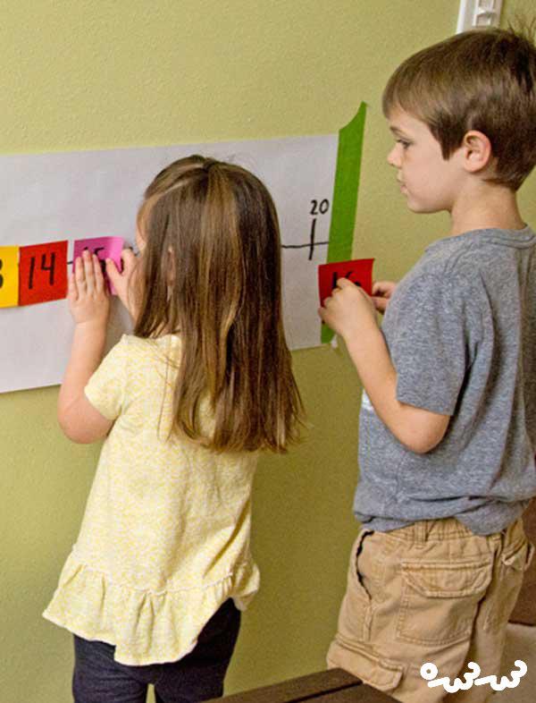 آموزش نوشتن اعداد به کودکان پیش دبستانی