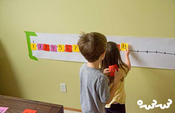 آموزش اعداد به کودکان 4 ساله