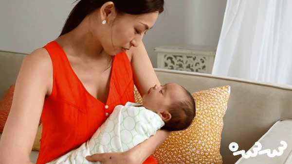 خواب زیاد نوزاد و شیر نخوردن