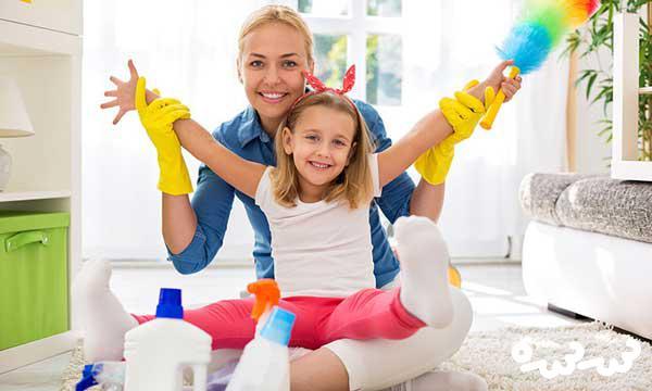 مسئولیت پذیری کودکان در خانه