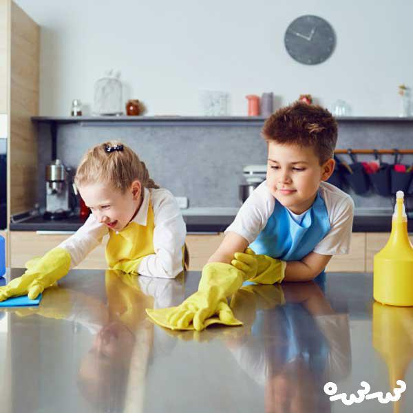 بازی برای مسئولیت پذیری کودک