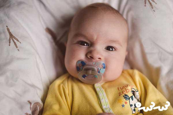 توانایی نوزاد پنجاه روزه
