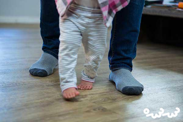 راه نرفتن کودک یک ساله نی نی سایت