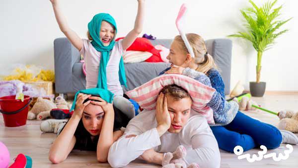رفتار با کودکان در دوران کرونا و قرنطینه